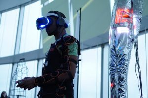 Rez Infinite Synethesia Suit by Yukari Konishi, Keio University (Japan) - Feel virtual reality (PRNewsFoto/Art Dubai Group)