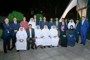 CIOs at the tenth CIOMajlis held in Emirates Golf Club in Dubai