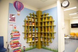 Dubai Culture Reading Corner at Al Jalila Hospital