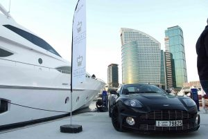 Gulf Craft and Aston Martin Car