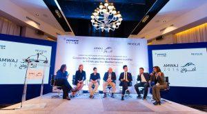 Speakers at AMWAJ, the international sustainability and entrepreneurship forum in Jordan