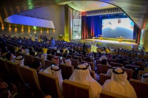 The event at Zayed University in Abu Dhabi to mark the International Day for Tolerance.