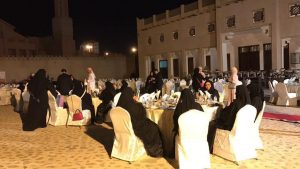 A Special Dinner Reception at Ajman Museum for The Gulf Business Women