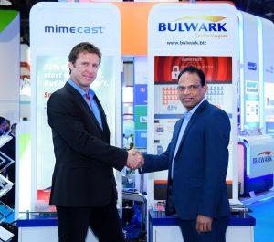 Brandon Bekker - Mimecast MEA and Jose Thomas Menacherry - Bulwark Technologies