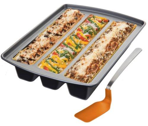 Oprah's Favorite Things Chicago Metallic Lasagna Trio Pan