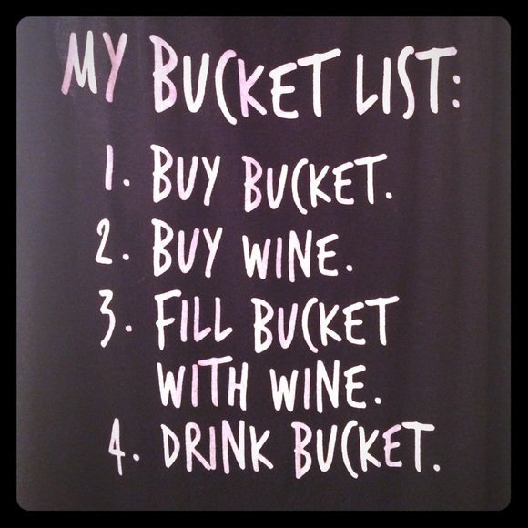 retirement bucket list