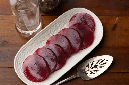 Cranberry Gel dish