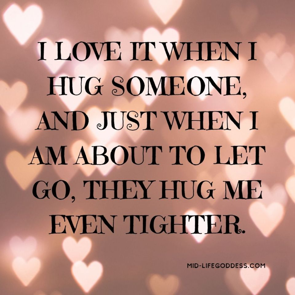 Hug Me Tighter