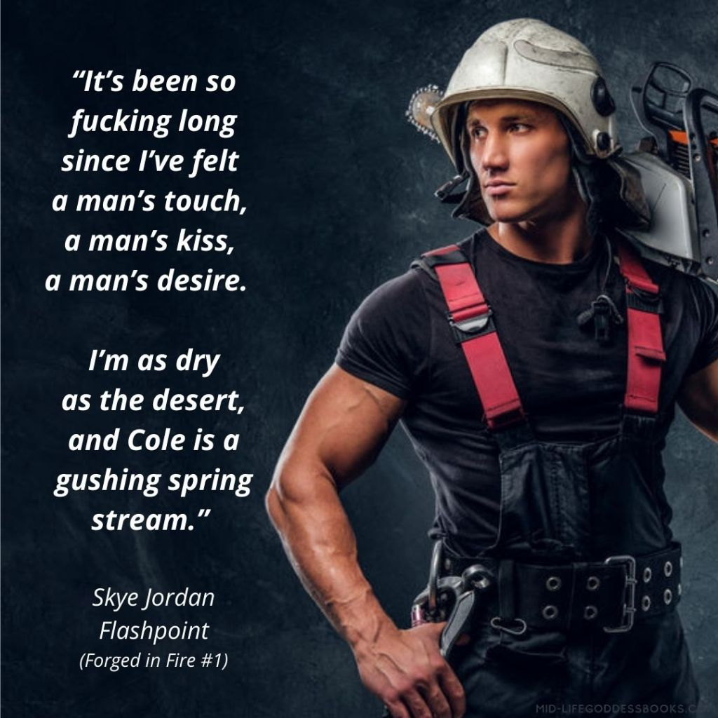 firefighter and quote from Flashpoint
