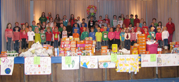 St John's Lutheran students supporting local charities
