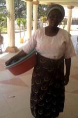 Vivian at the Cathedral Church