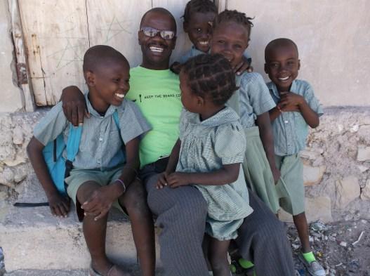 Jean Philippe Paul, Feeding Program Director in Artibonite, Haiti