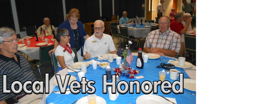 Local Vets Honored