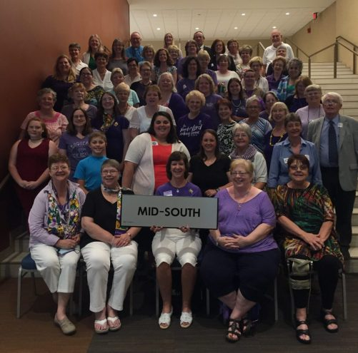 Mid-South Delegation Attends 37th Biennial Lutheran Women's Missionary League Convention