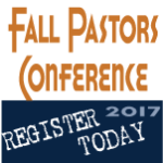 Fall Pastors Conference Registration