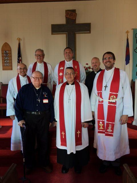 Rev. Timothy J. Henning installed