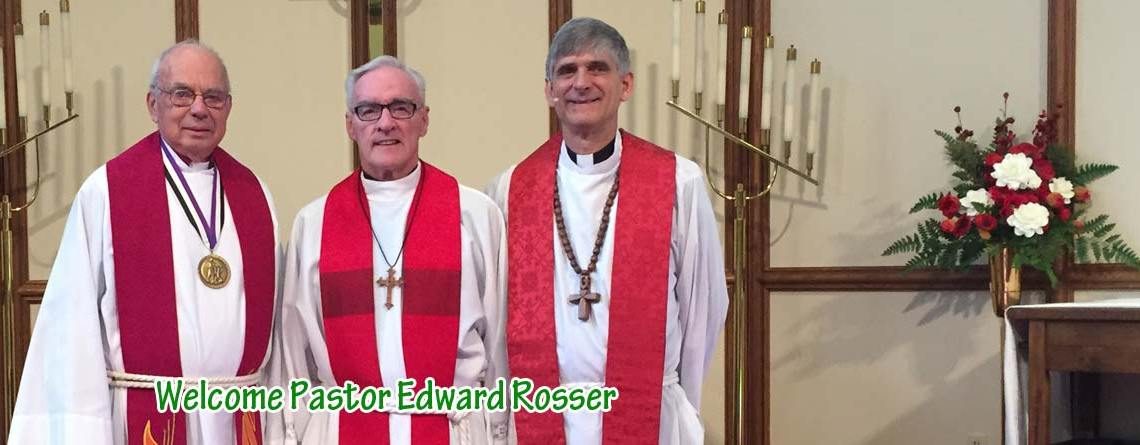 Installation of Pastor Edward K. Rosser
