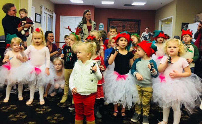 Christmas Caroling at nursing home