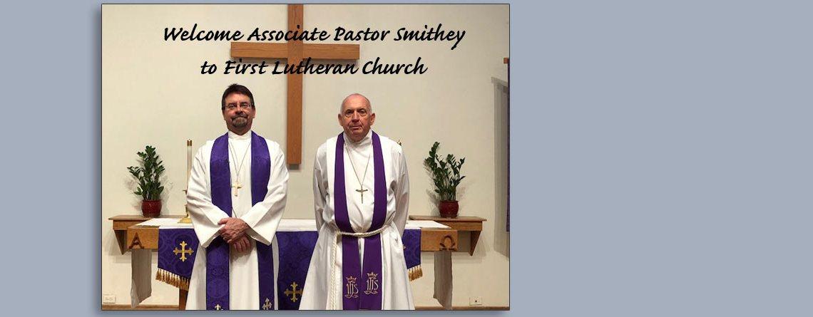 Welcome Pastor Floyd Smithey