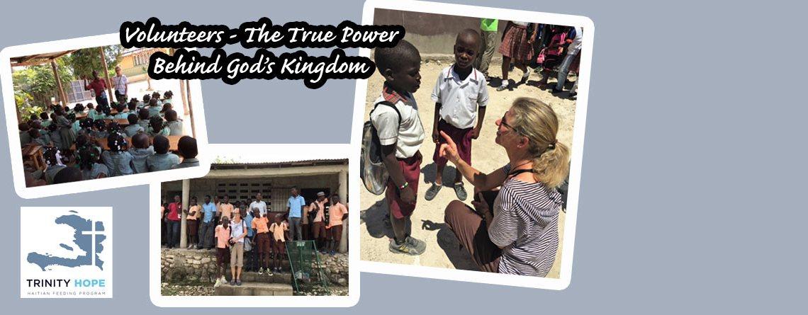 Volunteers – The True Power Behind God's Kingdom