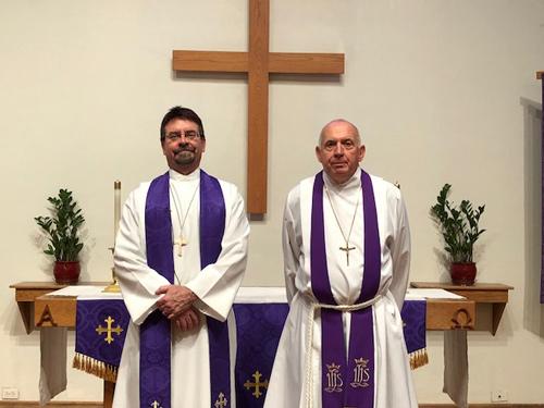 pastor Smithey installed