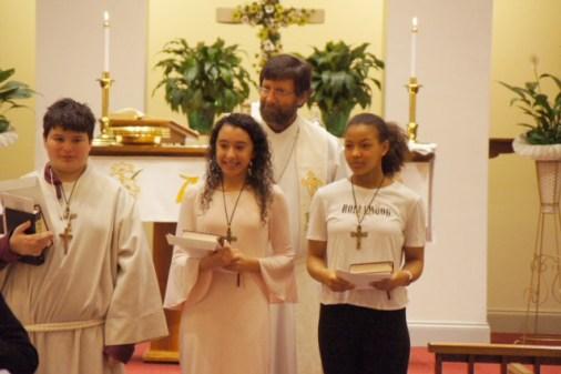 Christus Victor Lutheran confirmands