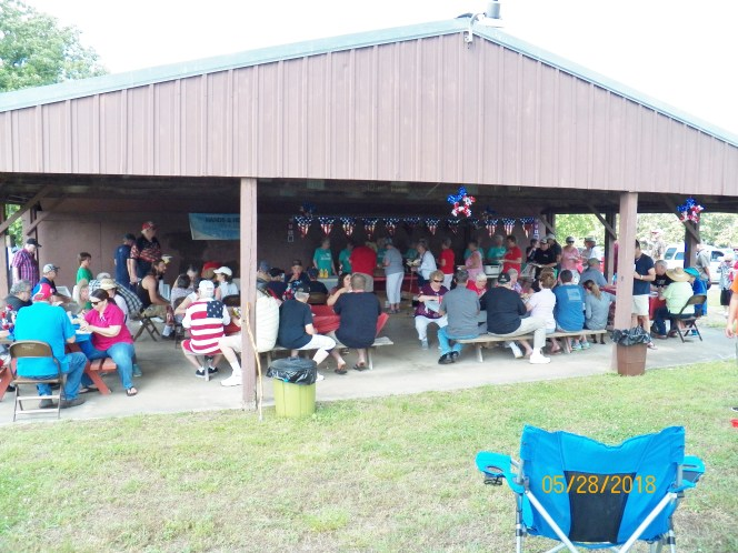 Veterans honored by the Action Team from Shepherd of the Hills, Horseshoe Bend, Ark