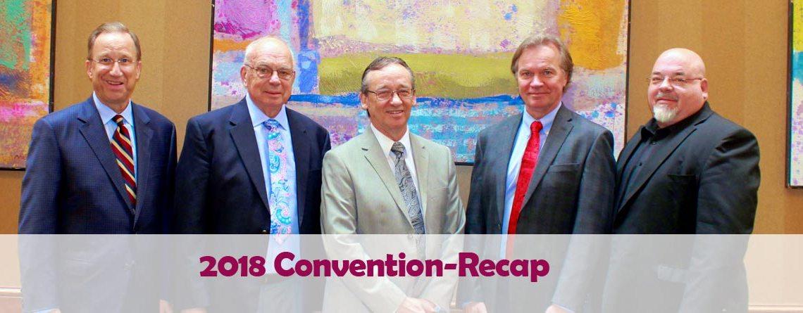 Convention Recap