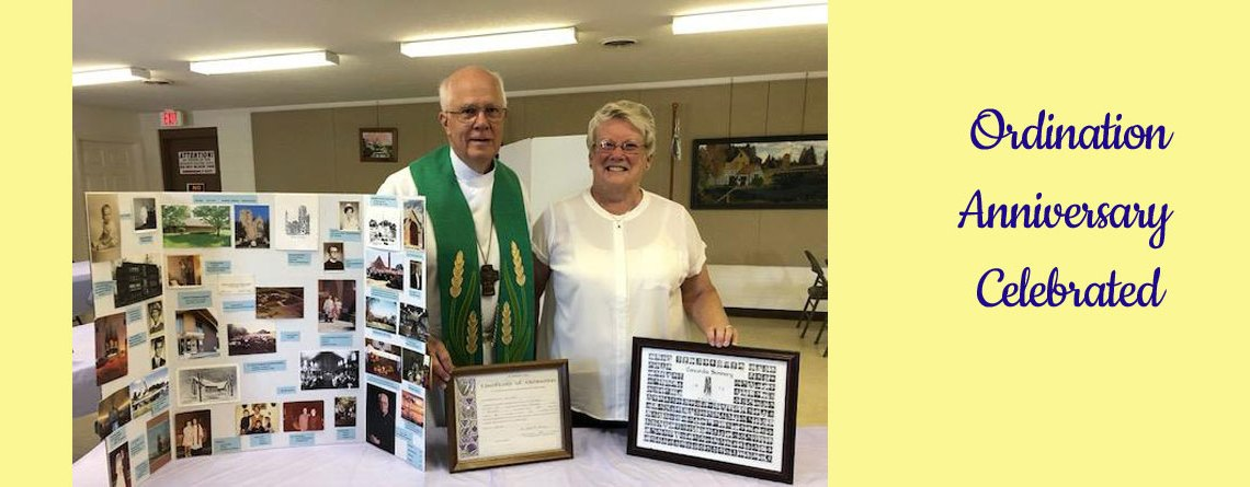 Rev. Paul Kritsch – 45th Anniversary