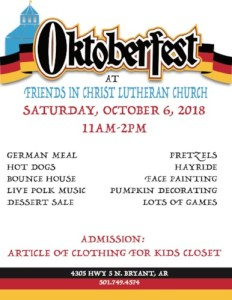 oktoberfest flyer 2018