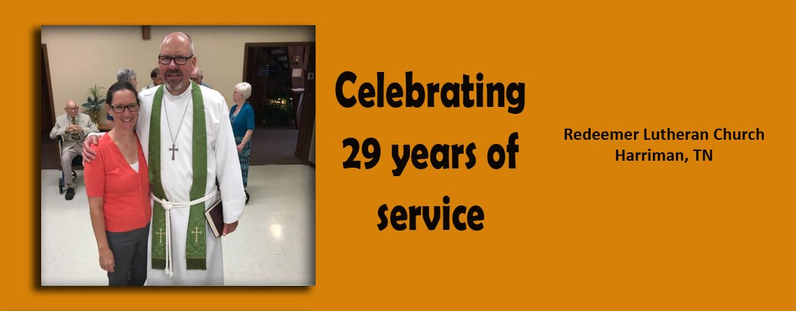 29 Years of Service