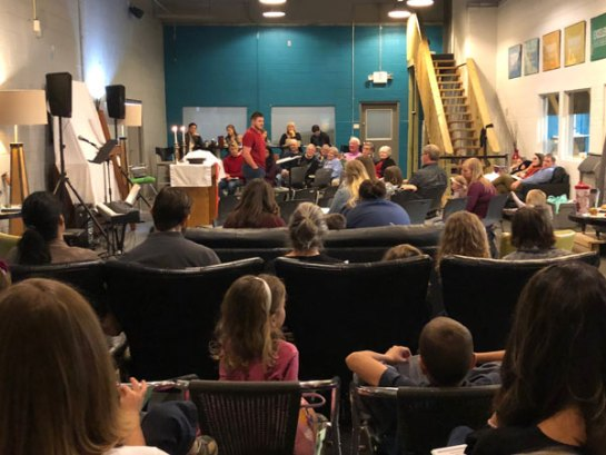Restoration Church holds first service!