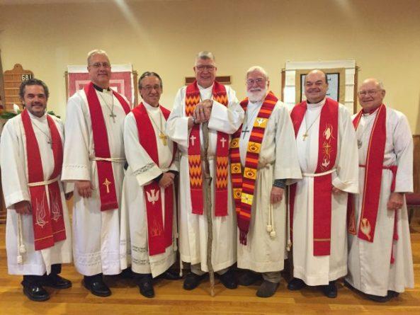 Rev Schutte installed