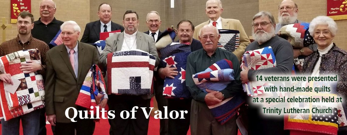 Thanksgiving & Quilts of Valor