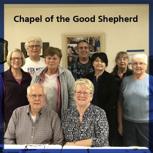 Good Shepherd committee making building plans