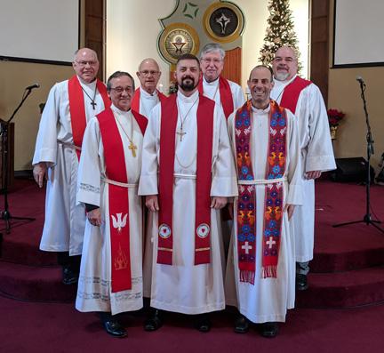 Rev. Vanderbush install, deploy in January