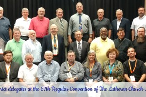 Mid-South District delegates serving at 67 LCMS convention