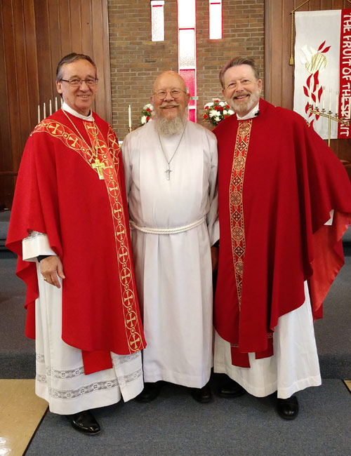 Placing Vicar Neely Owen as convertible vicar at Faith Lutheran Church