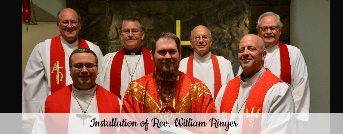 Installation of Rev. William Ringer