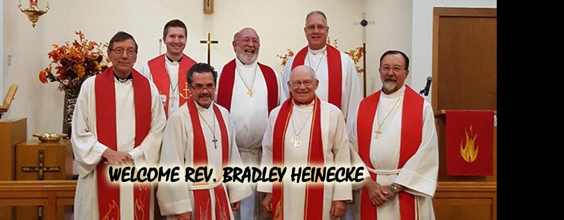 Installation of Rev. Bradley Heinecke