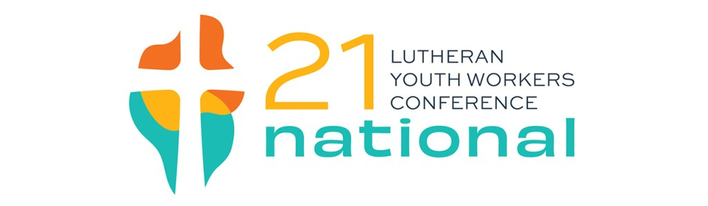 logo for 2021 National Lutheran Youth Workers Conference