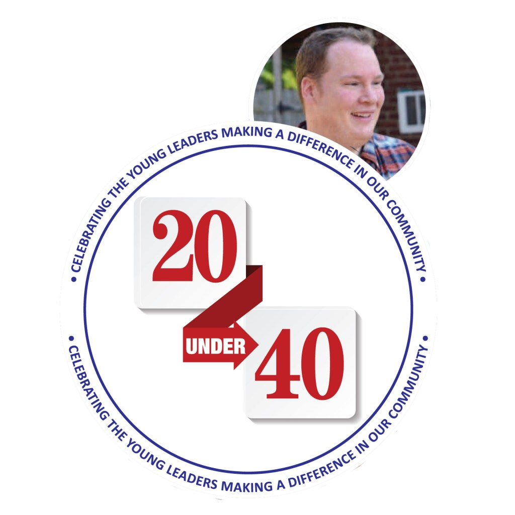 Pastor Graves recognized locally 20 under 40