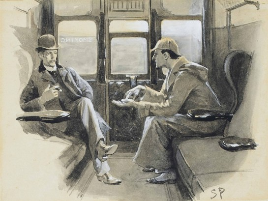Dr. John Watson and Sherlock Holmes by Sidney Paget