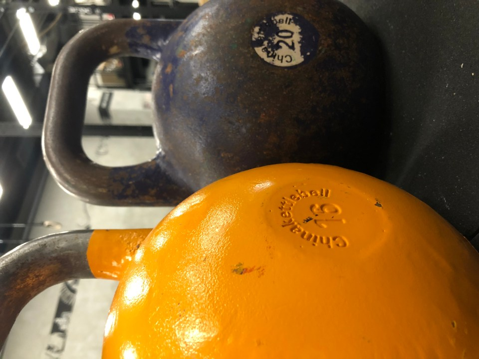 Cannonball! Crazy About the Kettlebell – Mid Age Man
