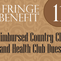 Fringe Benefit 11: Reimbursed Country Club and Health Club Dues