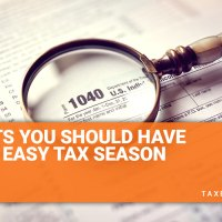5 Habits You Should Have for an Easy Tax Season