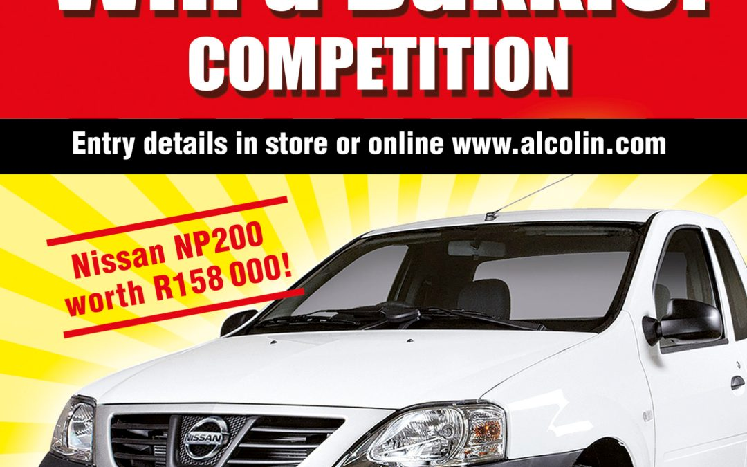 Alcolin Contractors Acrylic Promotion and Win A Bakkie Competition