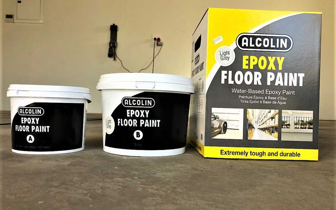 Alcolin Water Based Epoxy Floor Paint