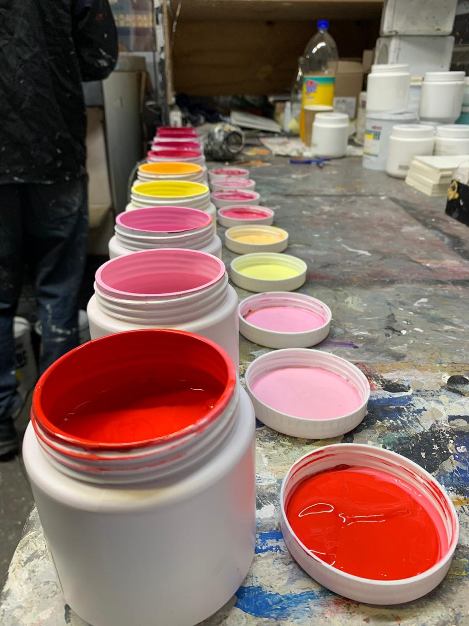 Paint Colour Mixing