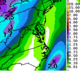 Precipitation next 7 Days